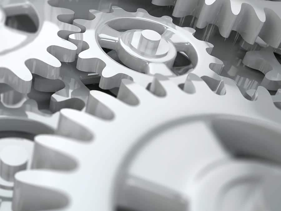 illustration of gears to show marketing automation