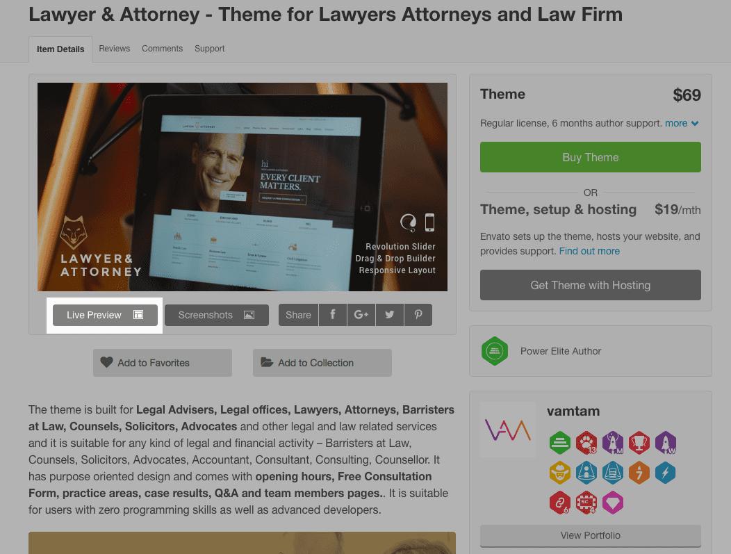 Lawyer Example - Demo
