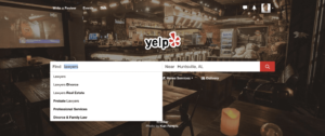 screenshot yelp for law firms