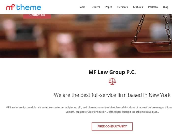 what are the best premium wordpress themes for lawyers to use